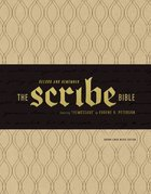 Message Scribe Bible Brown Linen Weave (Black Letter Edition) Imitation Leather