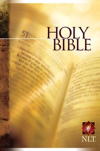NLT Holy Bible Text Edition (Black Letter Edition)