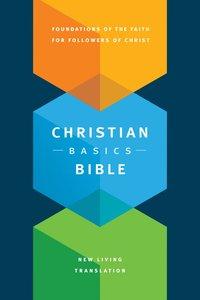 NLT Christian Basics Bible (Black Letter Edition)