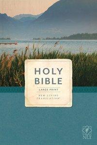 NLT Economy Outreach Bible Large Print (Black Letter)