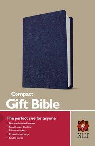 NLT Compact Gift Bible Navy