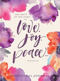 Love, Joy, Peace Devotional Journal (Gal 5:22)