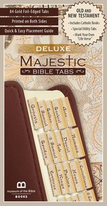 Majestic Bible Tabs (Deluxe)