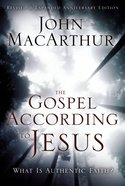 The Gospel According to Jesus