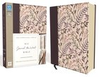 NIV Journal the Word Bible Pink Floral Cloth