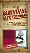 NIV 2017 Survival Kit For Grads Girls' Edition Burgundy Red Letter Edition Pack
