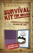 NKJV 2017 Survival Kit For Grads Girls' Edition Purple Red Letter Edition Pack