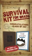NIV 2017 Survival Kit For Grads Boys' Edition Brown Red Letter Edition Pack