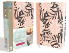 NIV Journal the Word Bible For Teen Girls Pink Floral (Red Letter Edition) Hardback