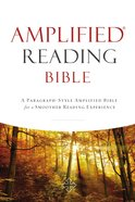 Amplified Reading Bible (Black Letter Edition) Hardback