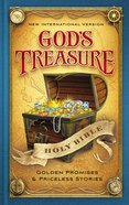 NIV God's Treasure Holy Bible (Black Letter Edition) Hardback