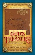 NIV God's Treasure Holy Bible Dark Tan (Black Letter Edition) Premium Imitation Leather
