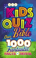 NIV Kids' Quiz Bible (Black Letter Edition) Hardback