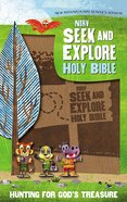 NIRV Seek and Explore Holy Bible Tan (Black Letter Edition) Premium Imitation Leather