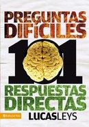 101 Preguntas Y 101 Respuestas Difuciles (101 Difficult Questions) Paperback