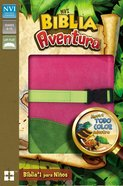 Nvi Biblia Aventura Pink (Adventure Bible) Imitation Leather