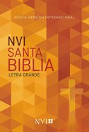 Nvi Santa Biblia Letra Grande Econmica Paperback