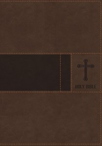 NIV Gift Bible Brown Indexed (Red Letter Edition)