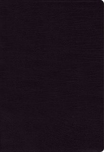 NIV Thinline Bible Large Print Black Indexed (Red Letter Edition)