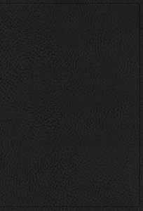 NIV Personal Size Reference Bible Large Print Black (Red Letter Edition)