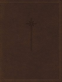 NIV Journal the Word Bible Brown (Red Letter Edition)