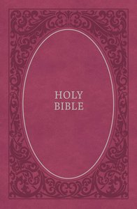 NIV Holy Bible Soft Touch Edition Pink (Black Letter Edition)