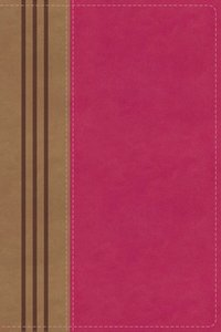 NIV Biblical Theology Study Bible Pink/Brown Indexed (Black Letter Edition)