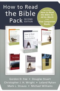How to Read the Bible (2nd Edition): Includes How to Read the Bible For All Its Worth and Five Companion Books (Pack)
