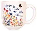 Gracelaced Mug: Great is Your Faithfulness (Lamentations 3:22-23) Homeware