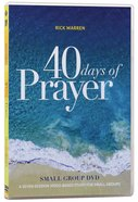 40 Days of Prayer (Small Group Teaching Dvd) DVD