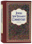 Jewish New Testament Commentary Hardback
