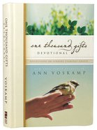 One Thousand Gifts Devotional Hardback