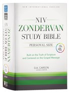 NIV Zondervan Study Bible Full Colour Personal Size (Black Letter Edition) Hardback