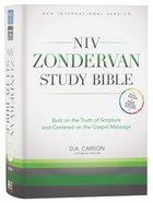 NIV Zondervan Study Bible Full Colour (Black Letter Edition) Hardback