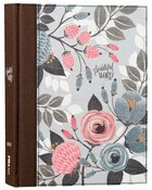 NIV Beautiful Word Bible Floral (Black Letter Edition) Hardback