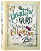 NIV Beautiful Word Coloring Bible (Black Letter Edition) Hardback