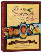 Jesus Storybook Bible Collector's Ed (Animated DVD Included) Hardback