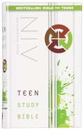 NIV Teen Study Bible (Black Letter Edition) Hardback