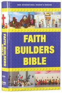 NIRV Faith Builders Holy Bible (Black Letter Edition) Hardback
