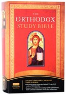 NKJV Orthodox Study Bible (Black Letter Edition) Hardback