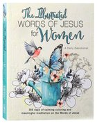 Illustrated Words Jesus For Women Devotional Book Paperback