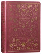 ESV Illuminated Bible Art Journaling Edition Burgundy (Black Letter Edition) Imitation Leather
