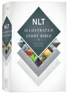 NLT Illustrated Study Bible (Black Letter Edition) Hardback
