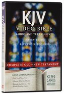 KJV Video Bible Narrated By Alexander Scourby (Audio And Text On DVD Voice Only) DVD