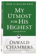 My Utmost For His Highest Paperback