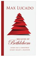 Because of Bethlehem (25 Pack) Booklet