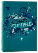 ERV Authentic Youth Bible Teal Hardback