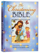 The Christening Bible (Blue) Padded Hardback