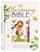 The Christening Bible (White) Padded Hardback