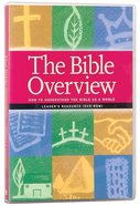 The Bible Overview (Leader's Resource Dvdrom) Dvd-rom